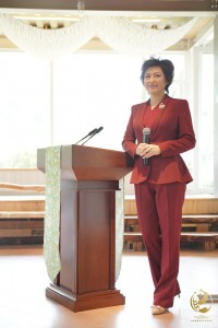 Karizmatična reporterka TV postaje Chengdu Li Ying