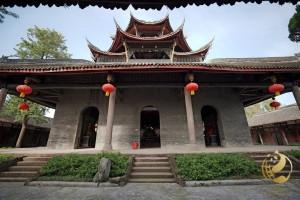 Notranji prizor iz templja Chunyang I