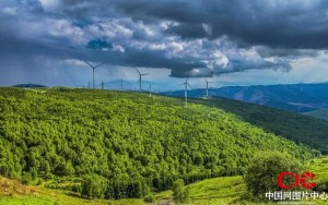 Zelena energija v Zhangjiakouju (vir: China Image Center, več slik v povezavi)