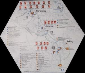 Zemljevid prizorišč